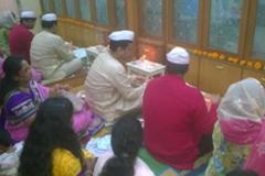 Diwali puja 2014